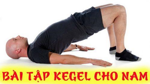 Hướng dẫn tập keygel cho nam