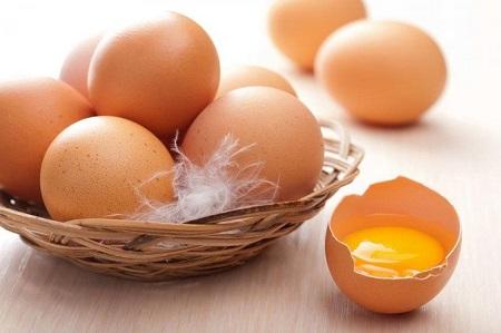 Trứng - món ăn cải thiện chất lượng tinh trùng hiệu quả