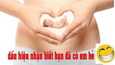 Dấu hiệu nhận biết có thai sớm